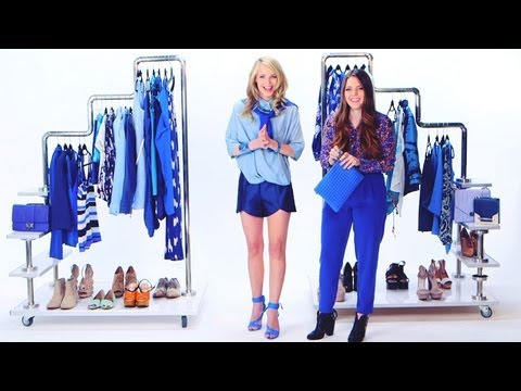 How to Wear the Cool Blue Trend | Spring Fashion | Currently Trending