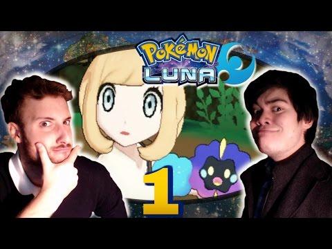 """Let's Play ignorantissimo di Pokémon Luna (CON WACKO) ★ Ep. 1 - """"Tua madre"""""""