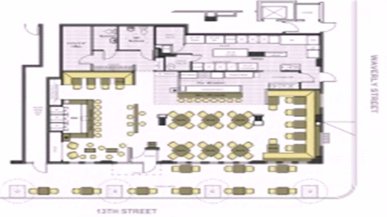 Korean Restaurant Floor Plan YouTube