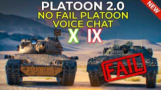 It's Actually FUN ✅ Tнe Platoon 2.0?! | World of Tanks Update 1.11.1 Patch News