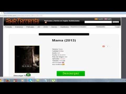 Paginas para descargar Pelicutas de Utorrent y para ver peliculas online