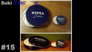 粘土【ミニチュア】ニベア青缶を作ってみた!★miniature NIVEA cream from clay
