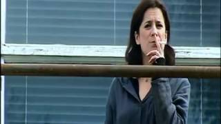 Woman Teacher Smoking At School