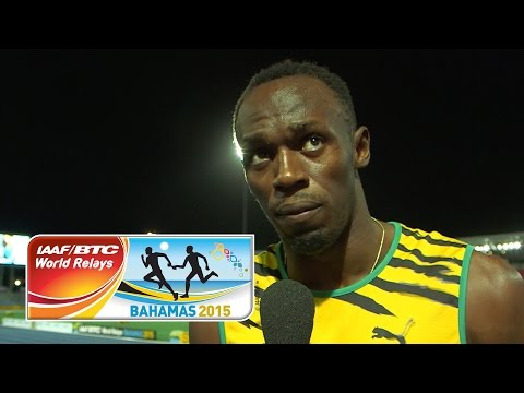 IAAF World Relays Bahamas 2015 - 1 Lap Men Final - Team JAM Silver