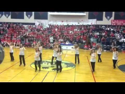 Bonners Ferry High School DanceTeam 2013