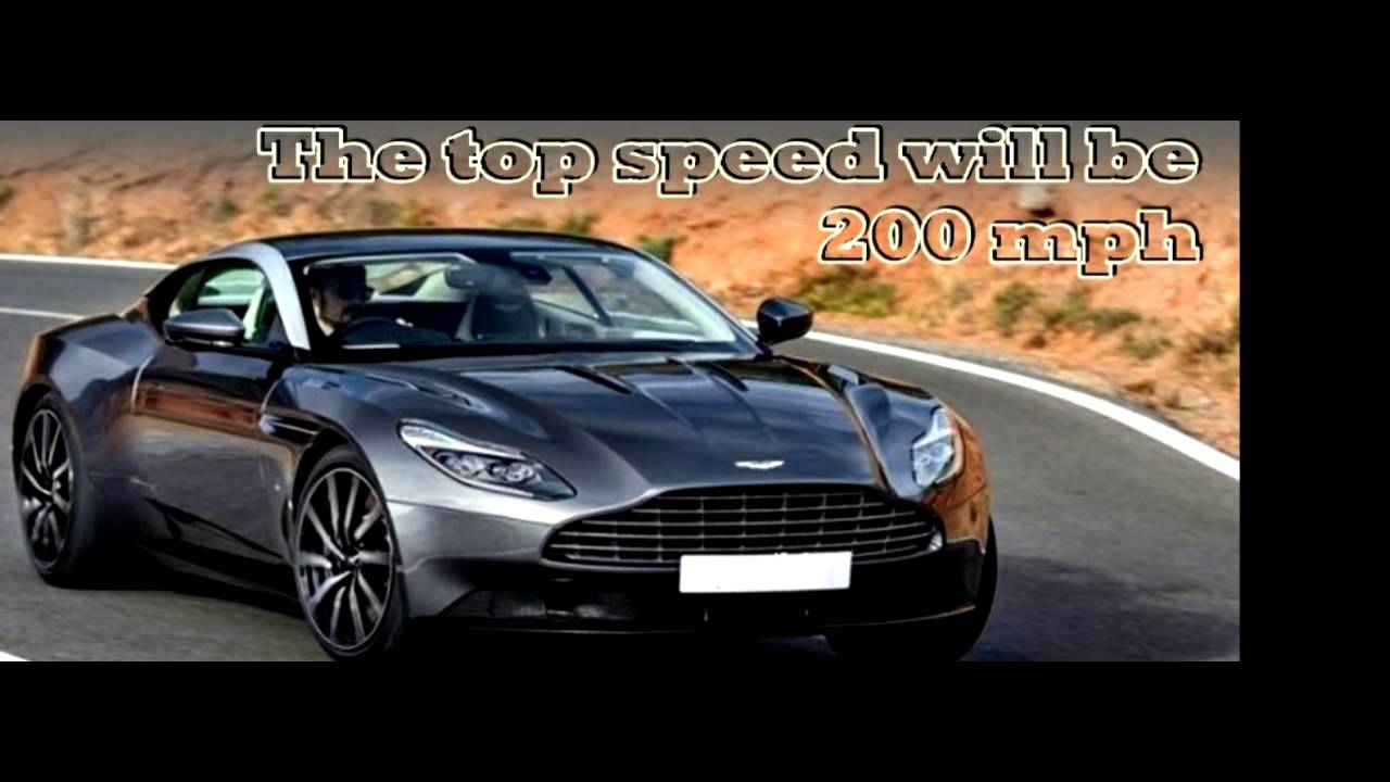 2017 Aston Martin Db11 Top Speed Photo Slide Youtube