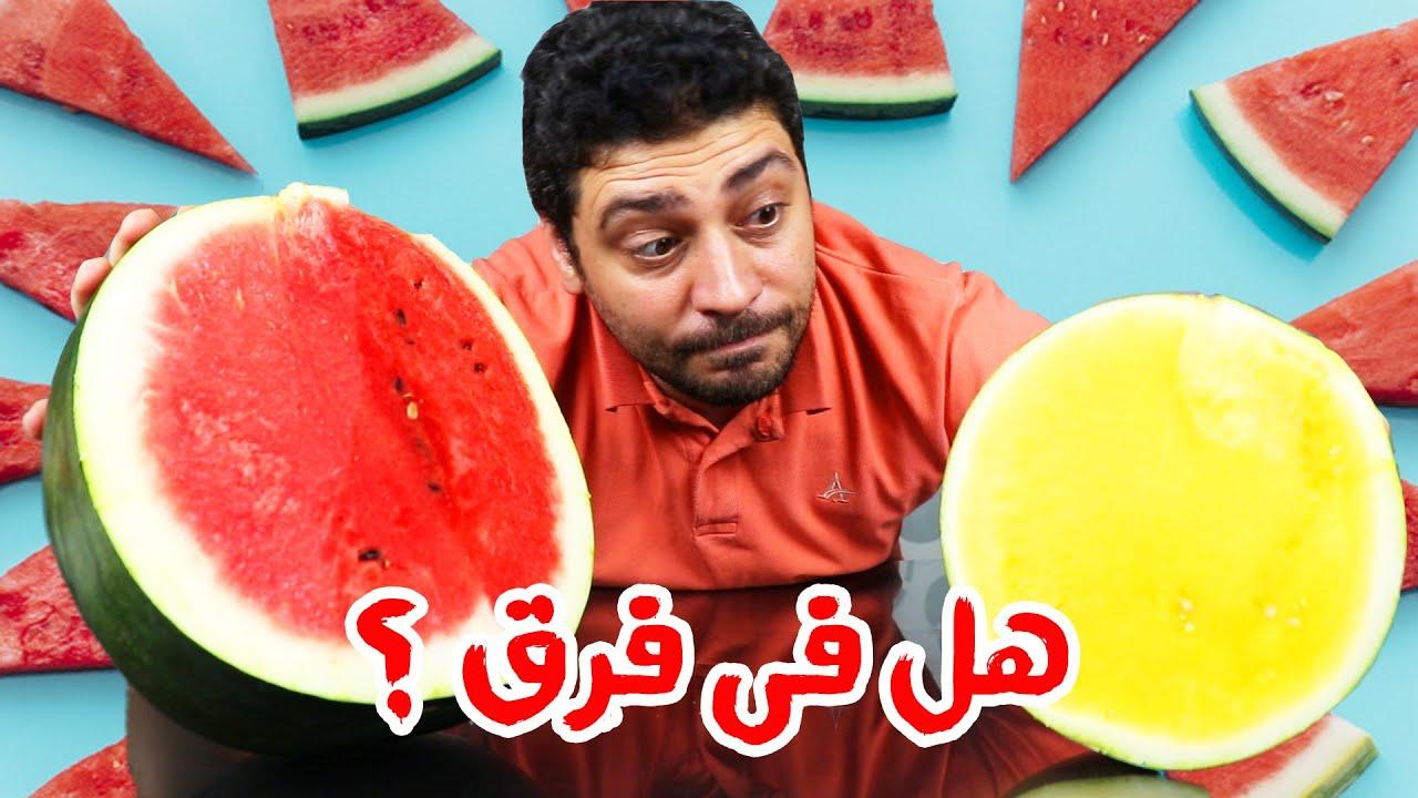 هل البطيخ الاصفر احسن من البطيخ الاحمر Youtube