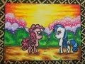 How to Draw and Colour My Little Pony - MLP