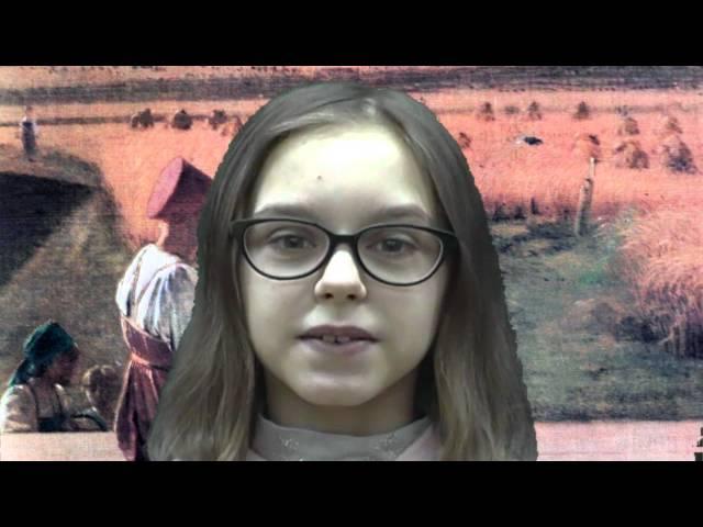 Изображение предпросмотра прочтения – ОльгаБыстрова читает отрывок изпроизведения «Мороз, Красный нос» Н.А.Некрасова