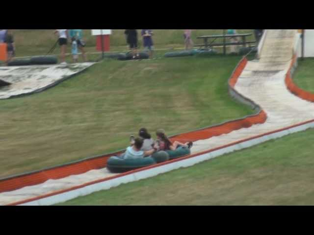 Summer Tubing at Ski Ward 2012