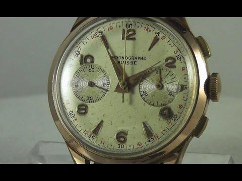 Chronographe Suisse Mov. Landeron 48, circa primi anni '60