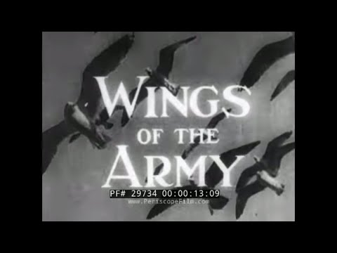 1940 U.S. ARMY AIR CORPS DOCUMENTARY