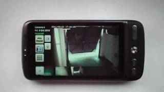 IP Cam Viewer Pro Android HTC Desire