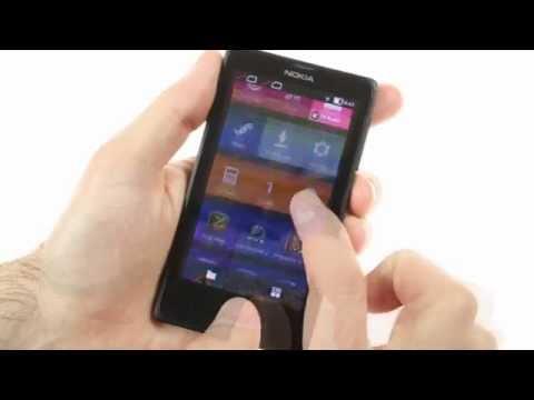 Nokia X: user interface