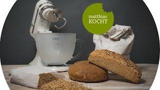 Einfaches Brotrezept für KitchenAid mit Tschimmhook