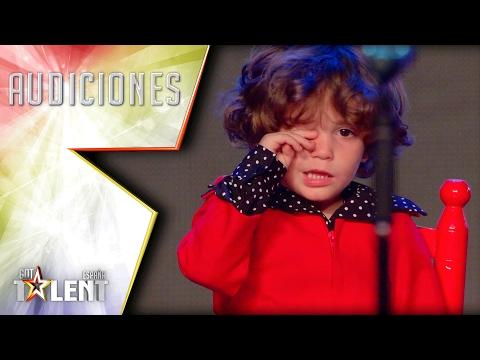 ¡Pase de Oro! Risto nos muestra su lado más tierno | Audiciones 5 | Got Talent España 2017