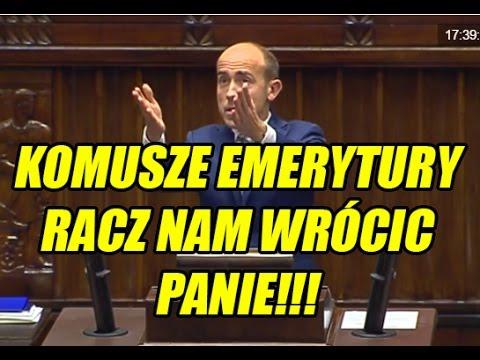 Borys Budka w OBRONIE EMERYTUR DLA KOMUNISTÓW!