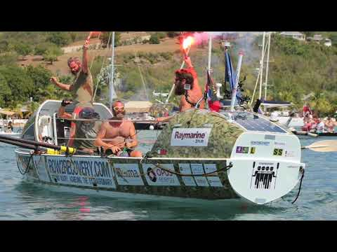 """Rowing Marine"" on the Rock to promote his planned solo challenge across Atlantic"