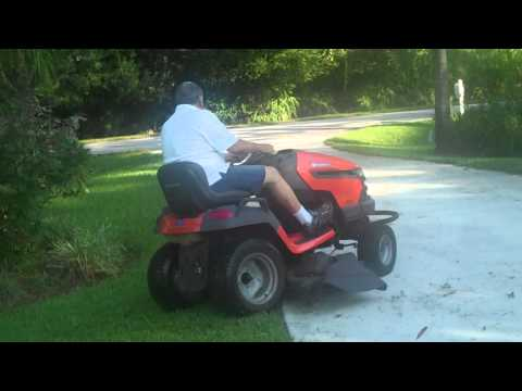 Husqvarna Tractor for sale  LGT 2654 - YouTube