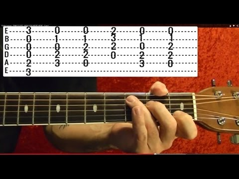 Yesterday by THE BEATLES - Guitar Lesson - Paul McCartney