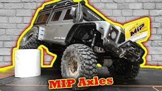 MIP Wide Axles for Traxxas TRX-4 plus -  B A C K F L I P !!!