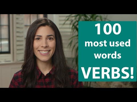 100 most used words - Part 8 - Verbs  Speaking Brazilian