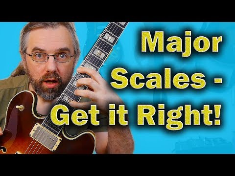 Practice Major Scales like this and You will get more out of it!