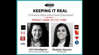 BrandCast Webinar: Keeping It Real, an HR Panel