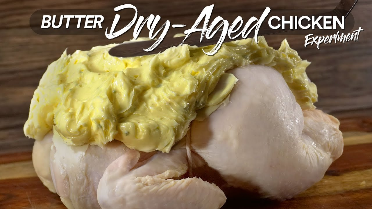 I DRY-AGED Chicken in BUTTER and this happened | Guga Foods