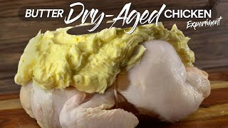 I DRY-AGED Chicken iฑ BUTTER and this happened | Guga Foods