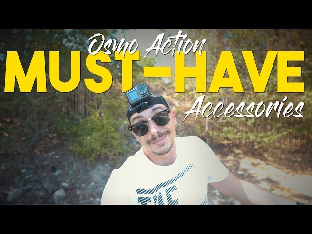 DJI Osmo Action - The MUST-HAVE Accessories!