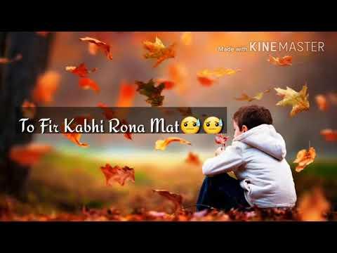 Sad Love Story Ishq Adhura Duniya Adhuri Sad WATSAPP STATUS