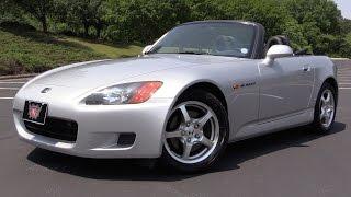 2002 honda s2000 start up road test in depth review