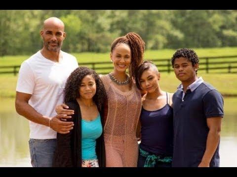 Boris Kodjoe family