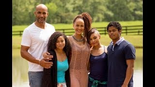 Boris Kodjoe family