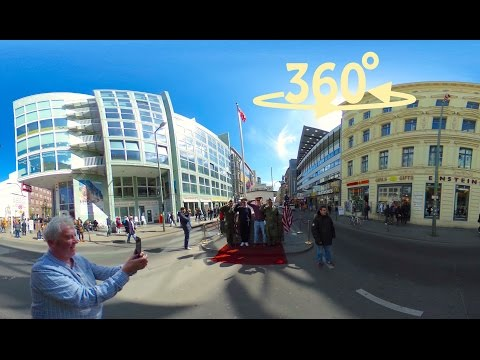 360º/VR Berlin Wall: East Side Gallery, Checkpoint Charlie, and Memorial - Germany