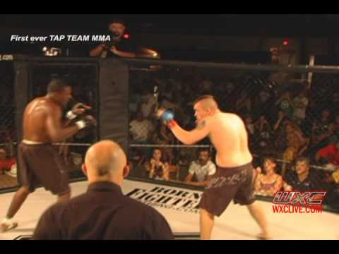 First Ever Tap (Tag) Team MMA - Warrior Xtreme Cagefighting Part 1
