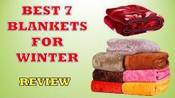 Best 7 Blankets for Winter - Review [2019] || सबसे अच्छा कंबल