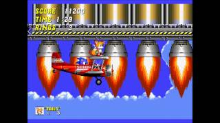 Sonic The Hedgehog 2 - Wing Fortress Zone (Music Track).