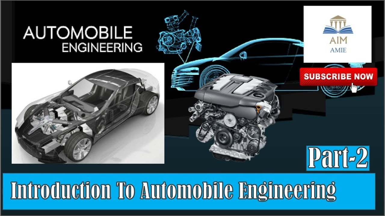 Automobile Engineering For Automobile Engineering Introduction Part 2 Engineer S Academy