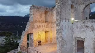 Fiumefreddo Bruzio & Castello della Valle (aerial view with DJI Mavic Mini)
