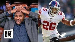 Saquon Barkley omitted from Domonique Foxworth's top 5 'Price-of-Admission' NFL Players | Get Up!