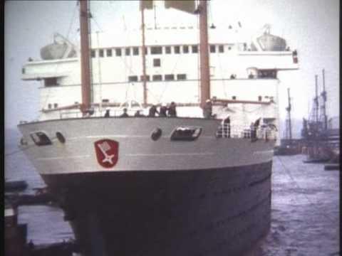 An Bord der MS Berlin 1963