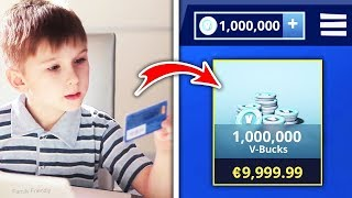5 Kids who have ARGENT VOLÉ to buy V-Bucks! (Fortnite)