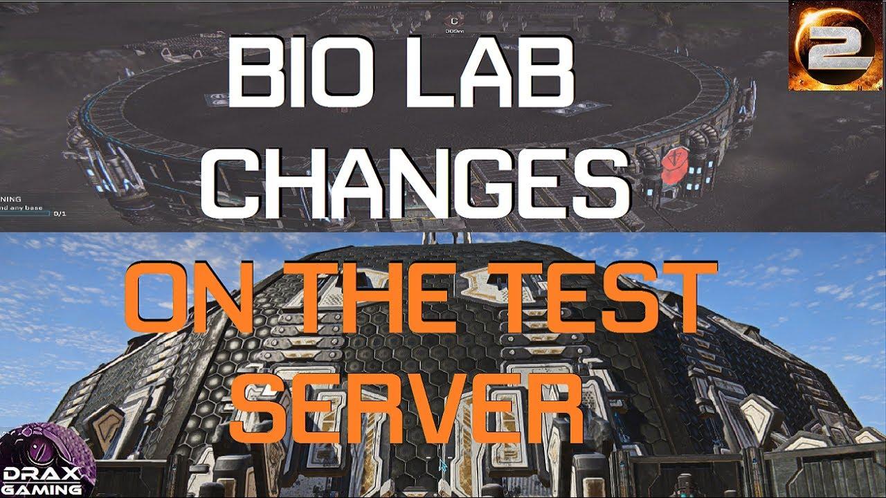 BIO LAB Changes on the Test Server | Ikanam, Xelas, and Onatha (PlanetSide  2) PTS
