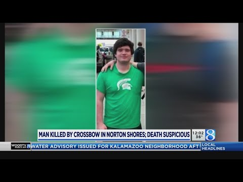 Man killed by crossbow in Norton Shores ID'd