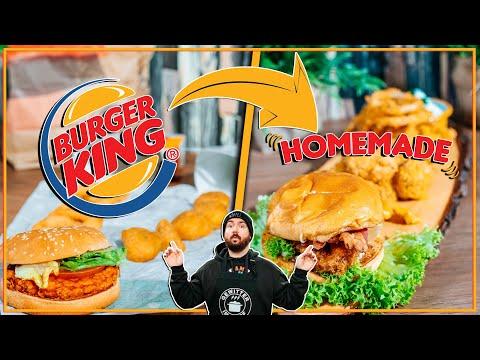 Burger KING Menü BESSER machen - Sturmwaffel