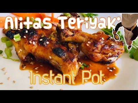 cómo-preparar-alitas-de-pollo-teriyaki-con-salsa-de-soja-y-miel-en-instant-pot-(-olla-a-presión-)