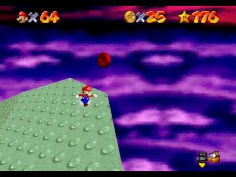 Image result for Red Coin Star - Bowser in the Sky