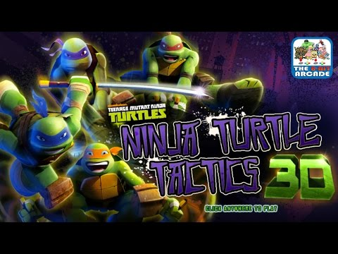 Teenage Mutant Ninja Turtles: Ninja Turtle Tactics 3D (Nickelodeon Games)